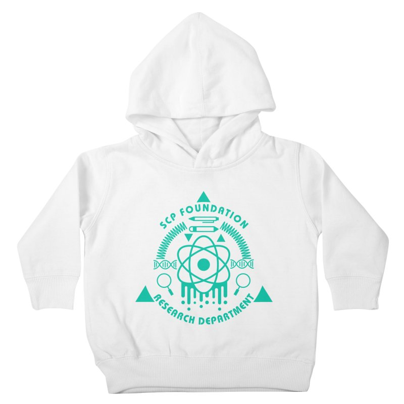 SCP Research Department Kids Toddler Pullover Hoody by Find Us Alive Official Merch