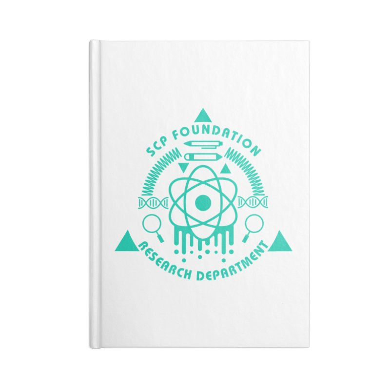 SCP Research Department Accessories Notebook by Find Us Alive Official Merch