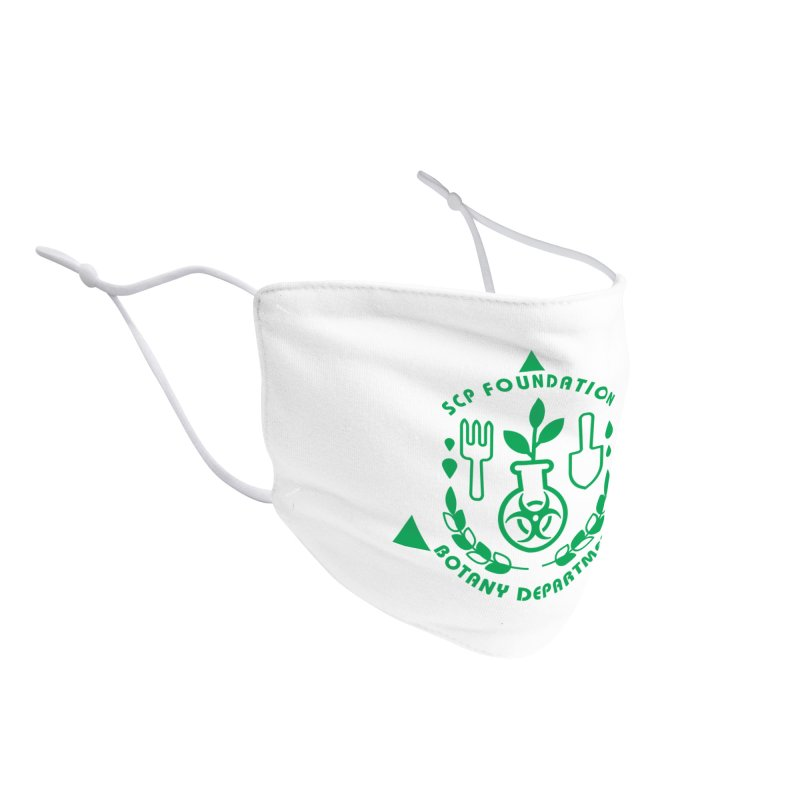 SCP Botany Department Accessories Face Mask by Find Us Alive Official Merch