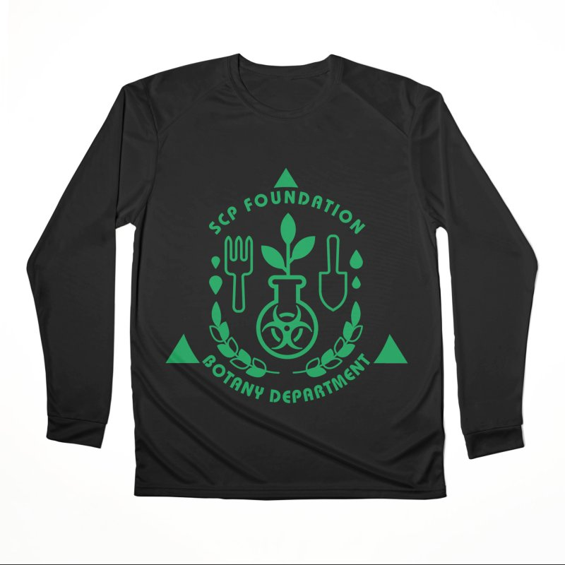 SCP Botany Department Men's Longsleeve T-Shirt by Find Us Alive Official Merch