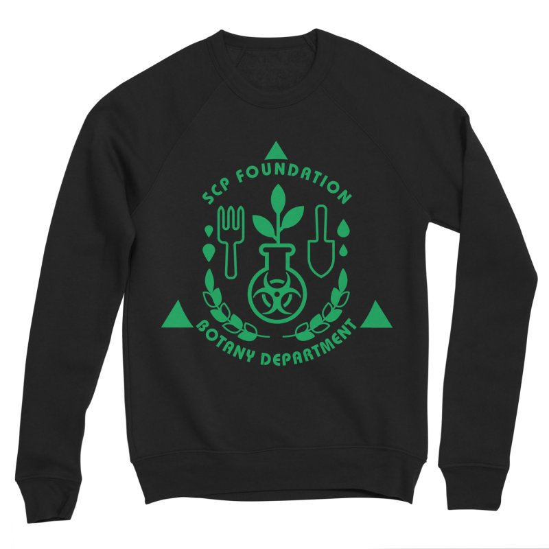 SCP Botany Department Men's Sweatshirt by Find Us Alive Official Merch