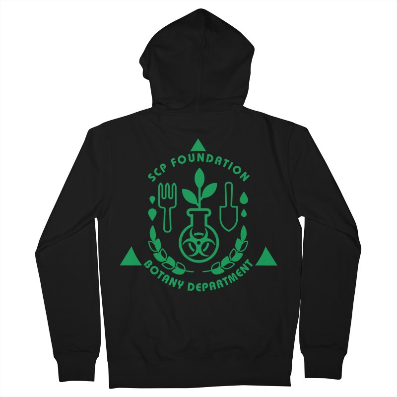 SCP Botany Department Women's Zip-Up Hoody by Find Us Alive Official Merch