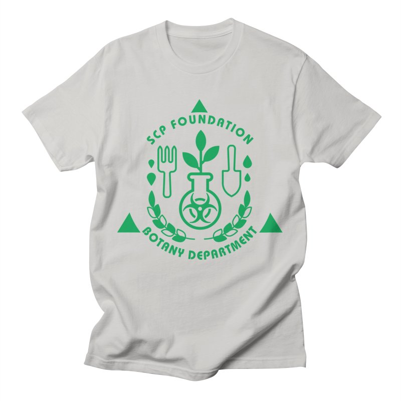 SCP Botany Department Men's T-Shirt by Find Us Alive Official Merch