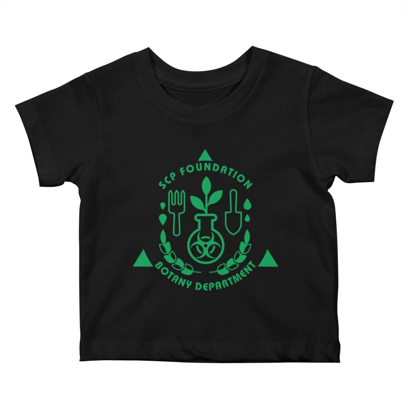 SCP Botany Department Kids Baby T-Shirt by Find Us Alive Official Merch