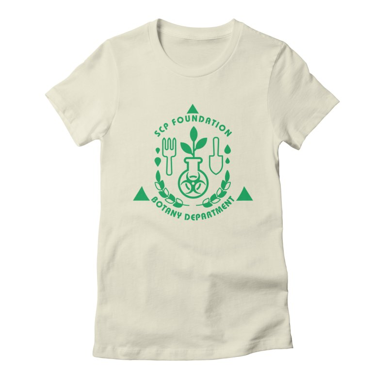 SCP Botany Department Women's T-Shirt by Find Us Alive Official Merch