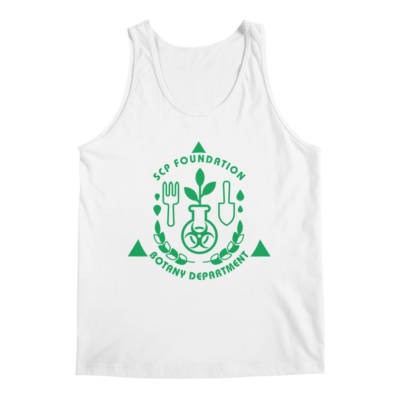 SCP Botany Department Men's Tank by Find Us Alive Official Merch