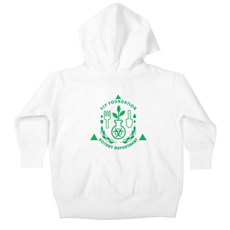 SCP Botany Department Kids Baby Zip-Up Hoody by Find Us Alive Official Merch