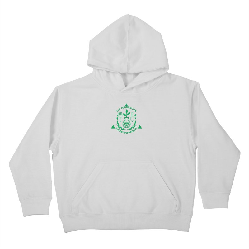 SCP Botany Department Kids Pullover Hoody by Find Us Alive Official Merch