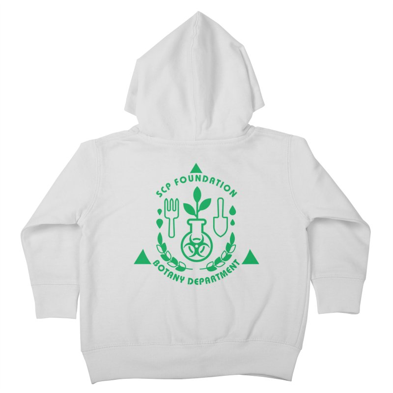 SCP Botany Department Kids Toddler Zip-Up Hoody by Find Us Alive Official Merch