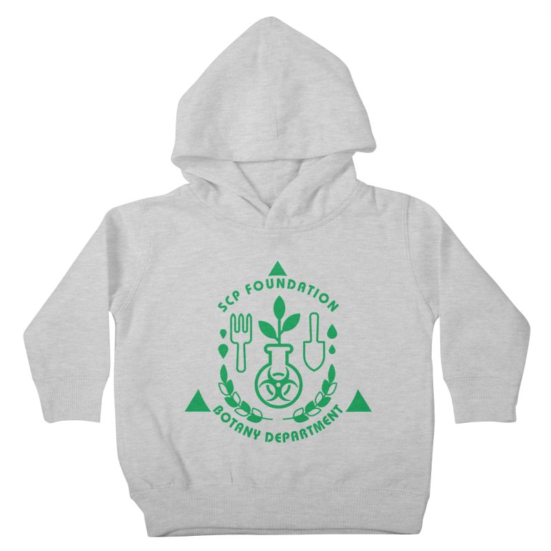 SCP Botany Department Kids Toddler Pullover Hoody by Find Us Alive Official Merch