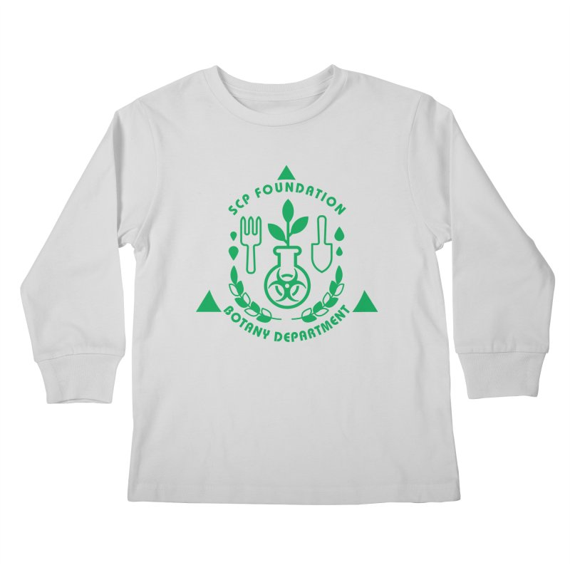 SCP Botany Department Kids Longsleeve T-Shirt by Find Us Alive Official Merch