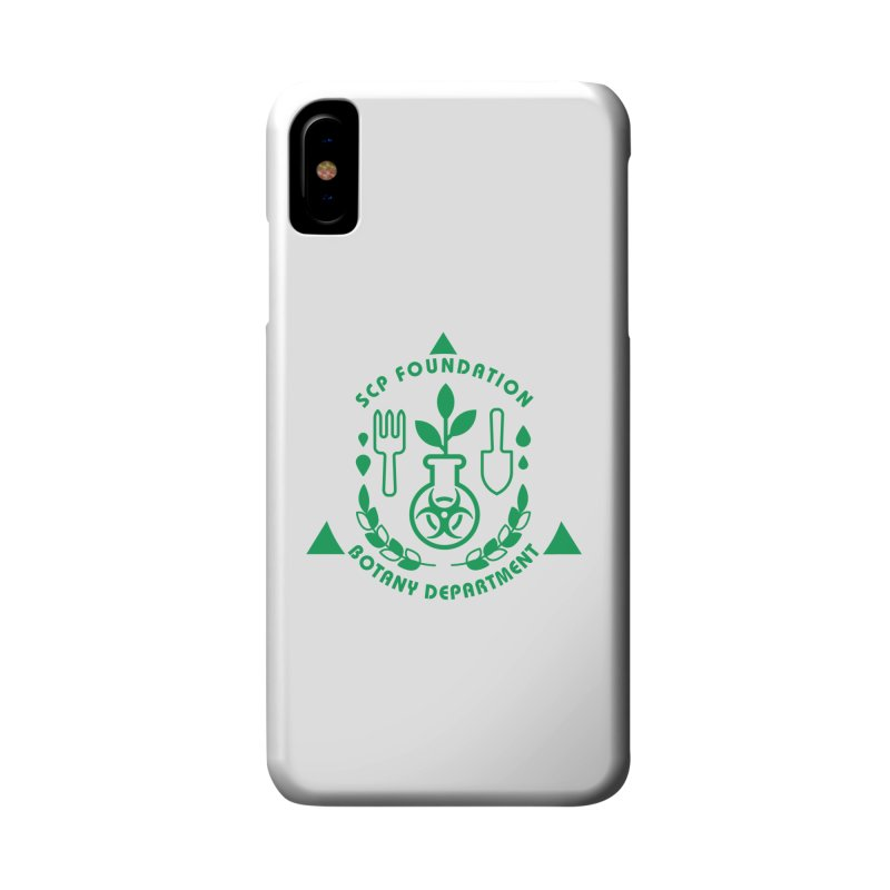 SCP Botany Department Accessories Phone Case by Find Us Alive Official Merch