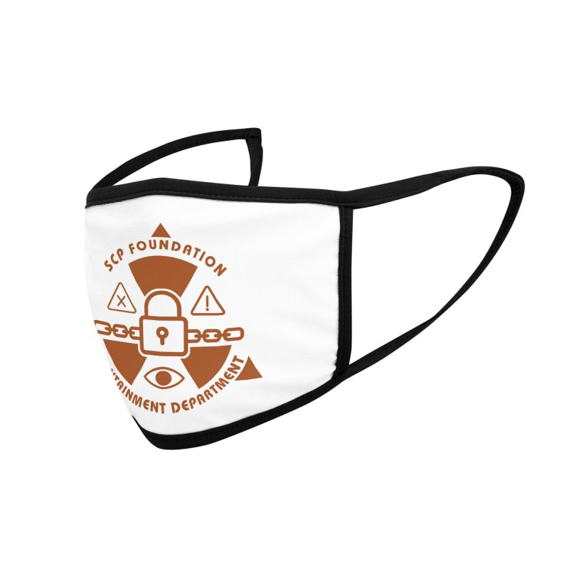 SCP Containment Department Accessories Face Mask by Find Us Alive Official Merch
