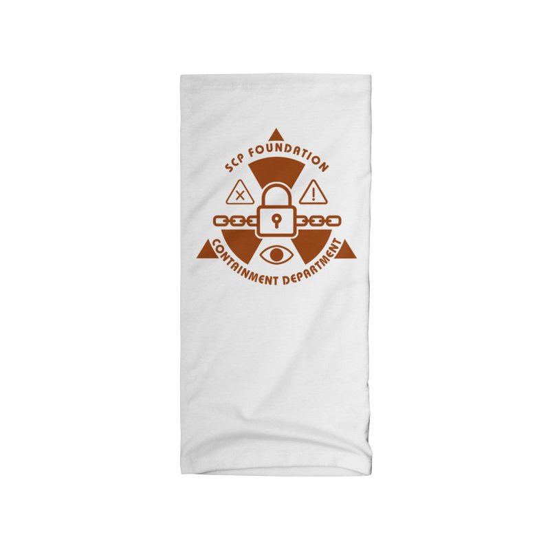 SCP Containment Department Accessories Neck Gaiter by Find Us Alive Official Merch