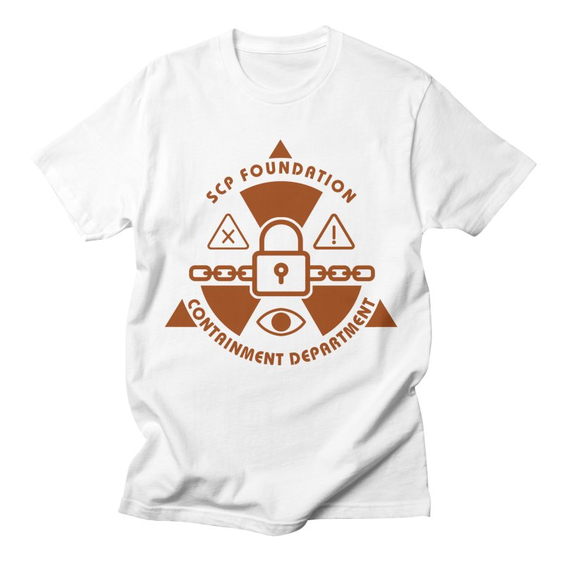 SCP Containment Department Men's T-Shirt by Find Us Alive Official Merch