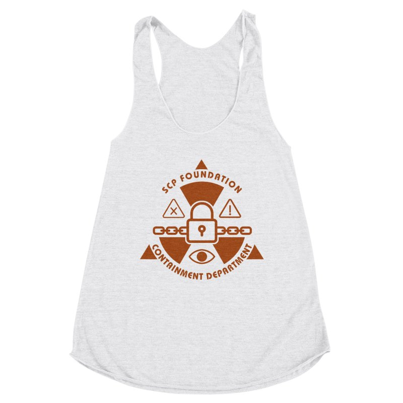 SCP Containment Department Women's Tank by Find Us Alive Official Merch