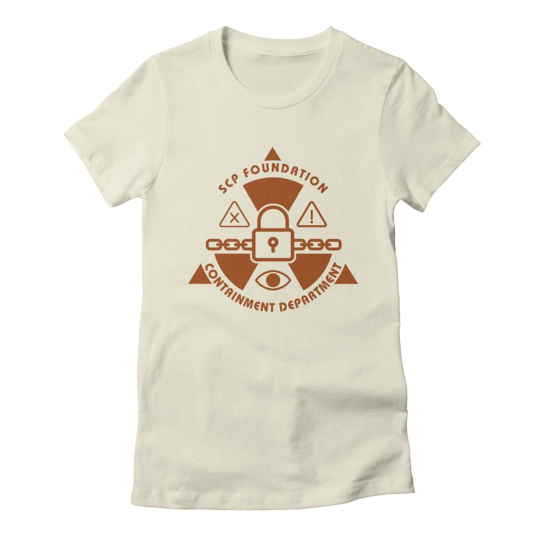 SCP Containment Department Women's T-Shirt by Find Us Alive Official Merch