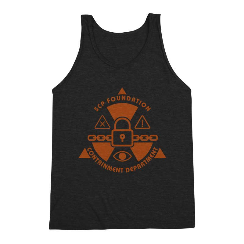SCP Containment Department Men's Tank by Find Us Alive Official Merch