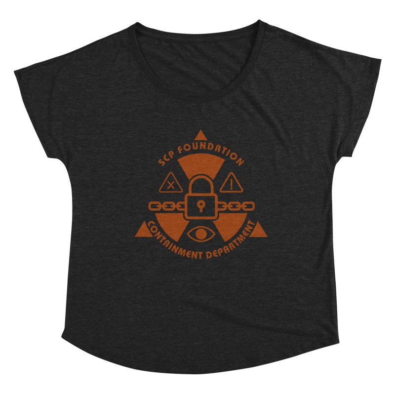 SCP Containment Department Women's Scoop Neck by Find Us Alive Official Merch