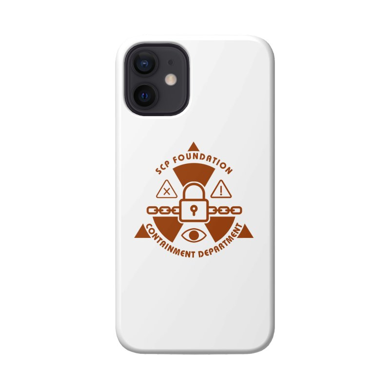 SCP Containment Department Accessories Phone Case by Find Us Alive Official Merch