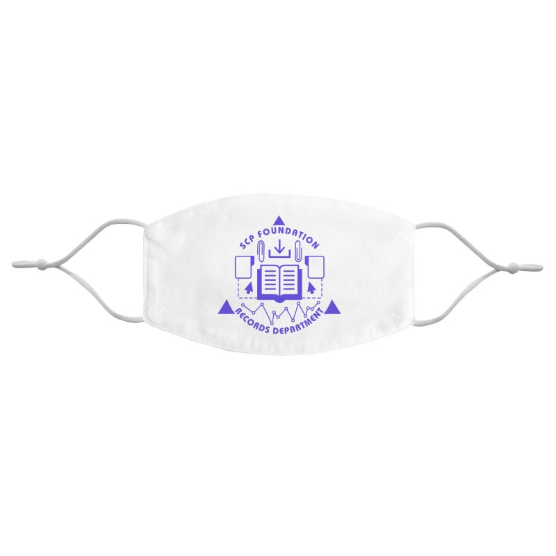 SCP Records Department Accessories Face Mask by Find Us Alive Official Merch