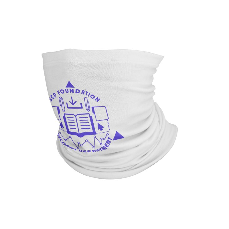 SCP Records Department Accessories Neck Gaiter by Find Us Alive Official Merch