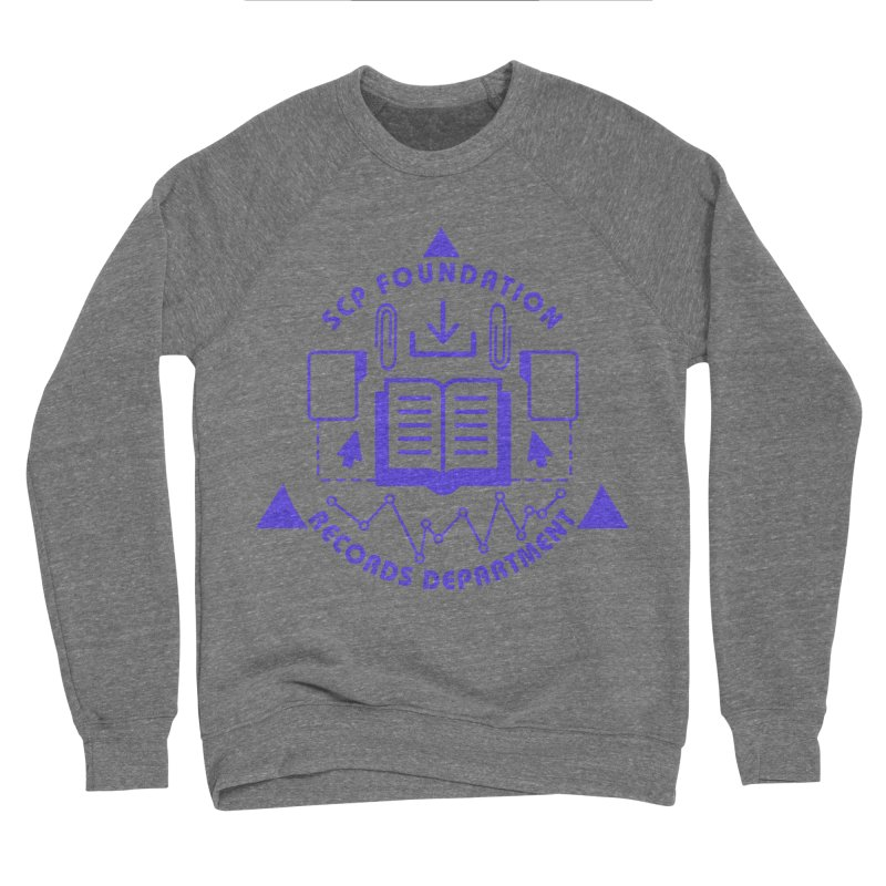 SCP Records Department Men's Sweatshirt by Find Us Alive Official Merch