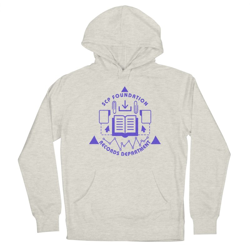 SCP Records Department Men's Pullover Hoody by Find Us Alive Official Merch