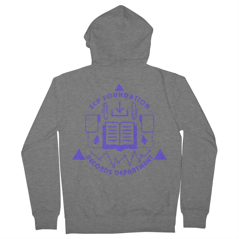 SCP Records Department Women's Zip-Up Hoody by Find Us Alive Official Merch