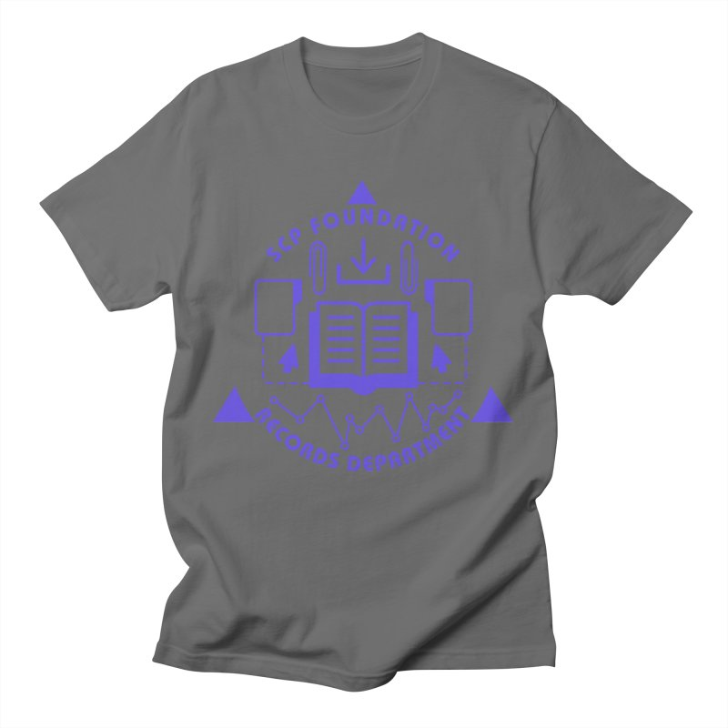SCP Records Department Men's T-Shirt by Find Us Alive Official Merch