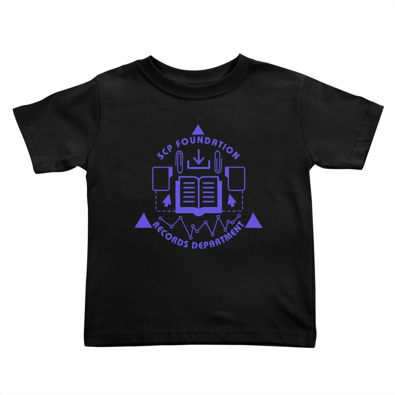 SCP Records Department Kids Toddler T-Shirt by Find Us Alive Official Merch