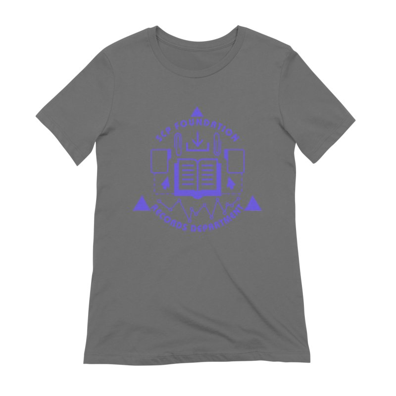 SCP Records Department Women's T-Shirt by Find Us Alive Official Merch
