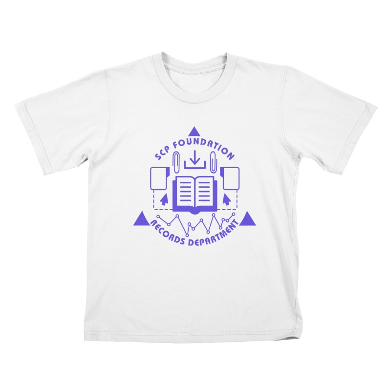 SCP Records Department Kids T-Shirt by Find Us Alive Official Merch