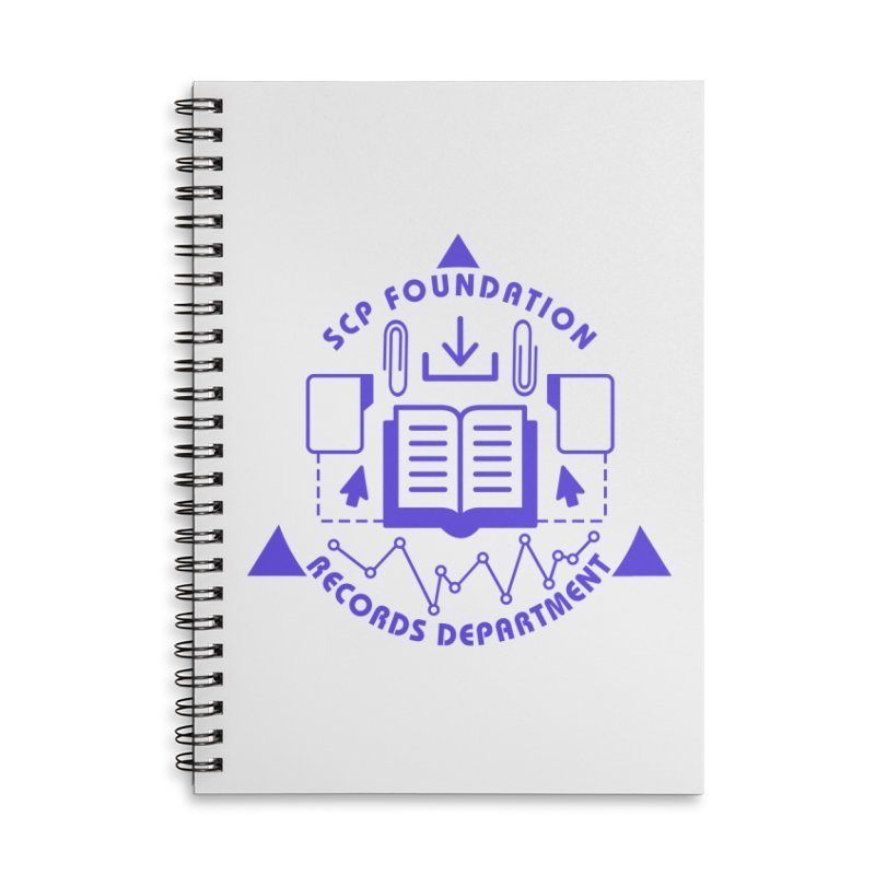 SCP Records Department Accessories Notebook by Find Us Alive Official Merch