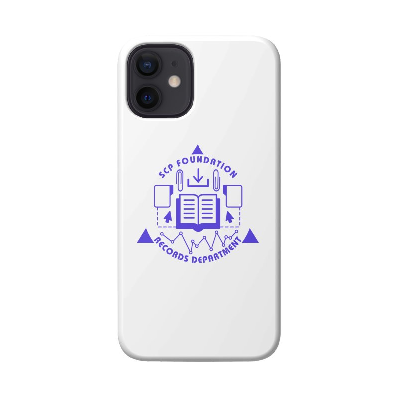 SCP Records Department Accessories Phone Case by Find Us Alive Official Merch