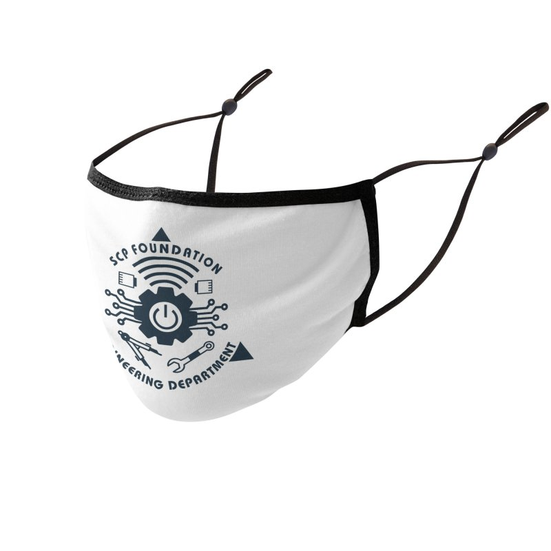 SCP Engineering Department Accessories Face Mask by Find Us Alive Official Merch