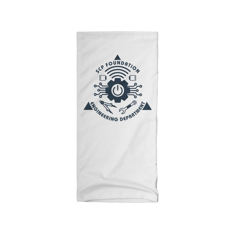 SCP Engineering Department Accessories Neck Gaiter by Find Us Alive Official Merch