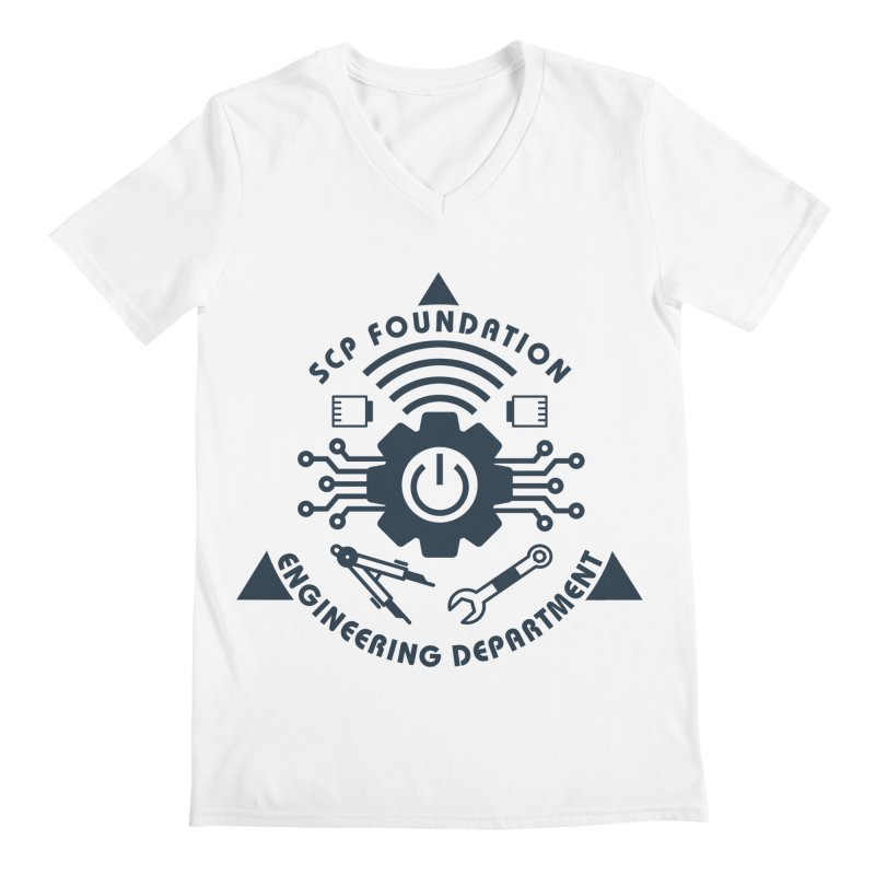 SCP Engineering Department Men's V-Neck by Find Us Alive Official Merch