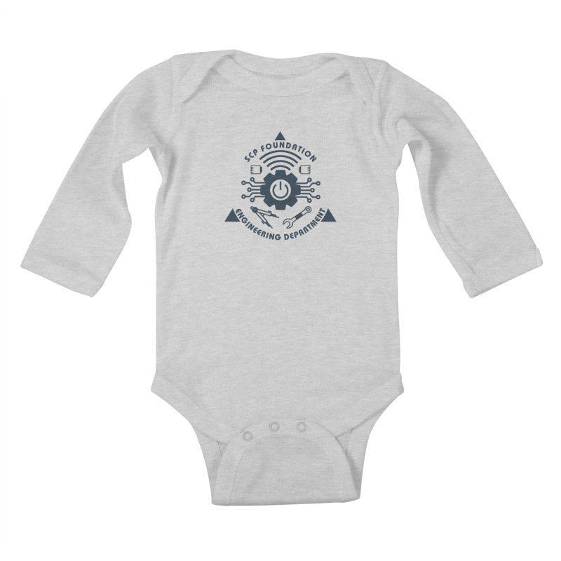 SCP Engineering Department Kids Baby Longsleeve Bodysuit by Find Us Alive Official Merch