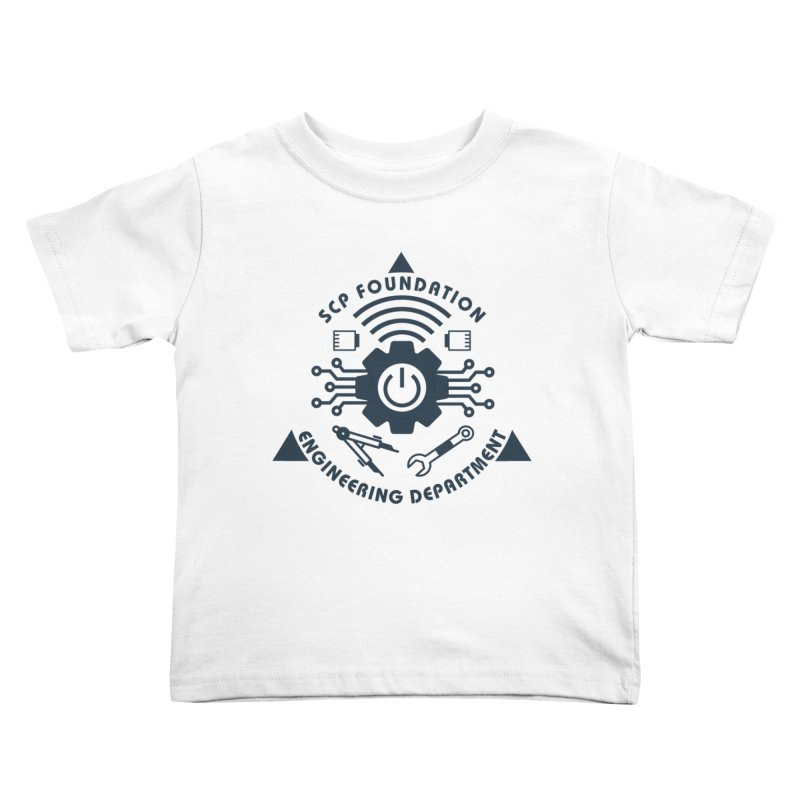 SCP Engineering Department Kids Toddler T-Shirt by Find Us Alive Official Merch
