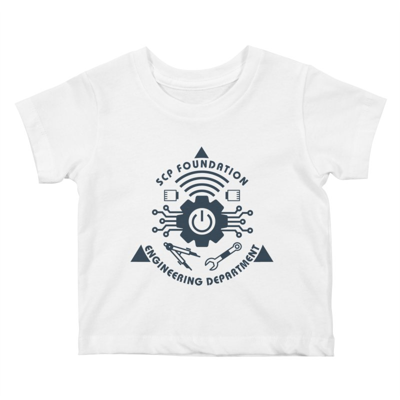SCP Engineering Department Kids Baby T-Shirt by Find Us Alive Official Merch