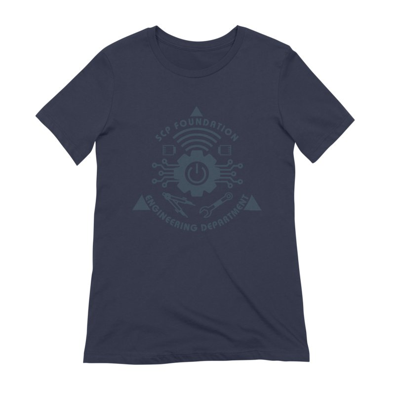 SCP Engineering Department Women's T-Shirt by Find Us Alive Official Merch