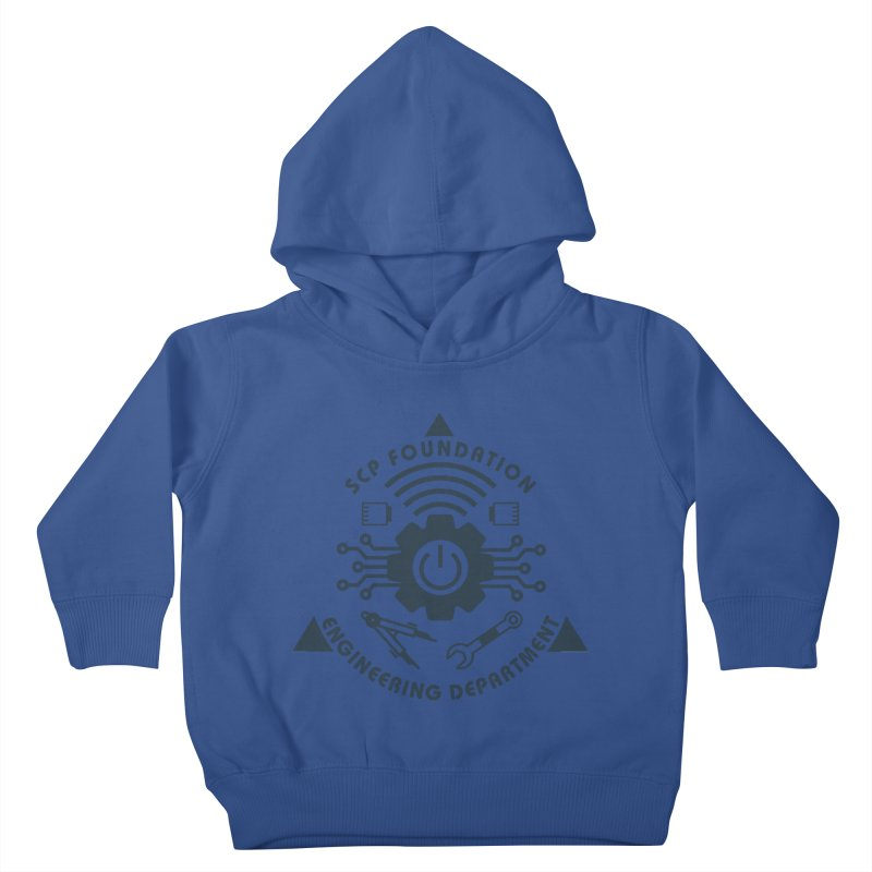 SCP Engineering Department Kids Toddler Pullover Hoody by Find Us Alive Official Merch