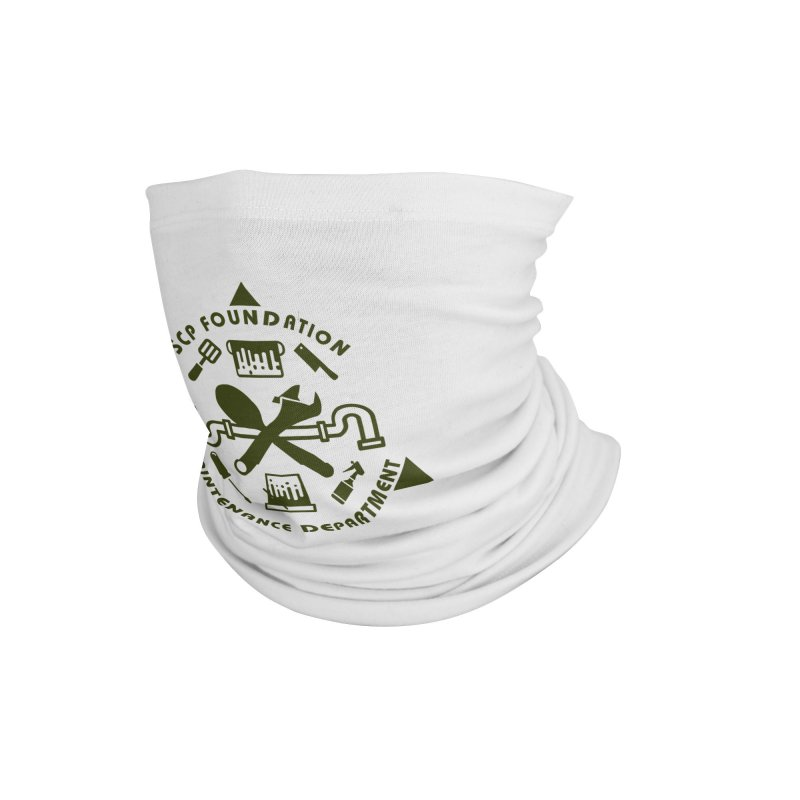 SCP Maintenance Department Accessories Neck Gaiter by Find Us Alive Official Merch
