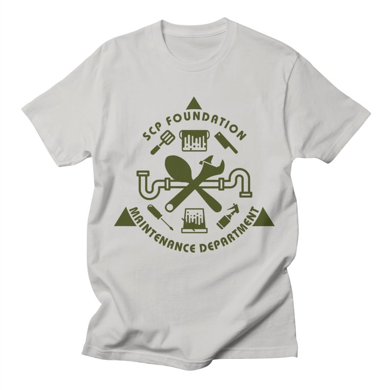 SCP Maintenance Department Men's T-Shirt by Find Us Alive Official Merch