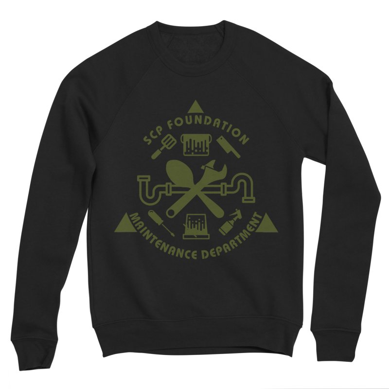 SCP Maintenance Department Men's Sweatshirt by Find Us Alive Official Merch