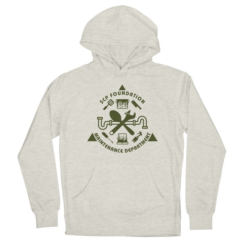 SCP Maintenance Department Women's Pullover Hoody by Find Us Alive Official Merch