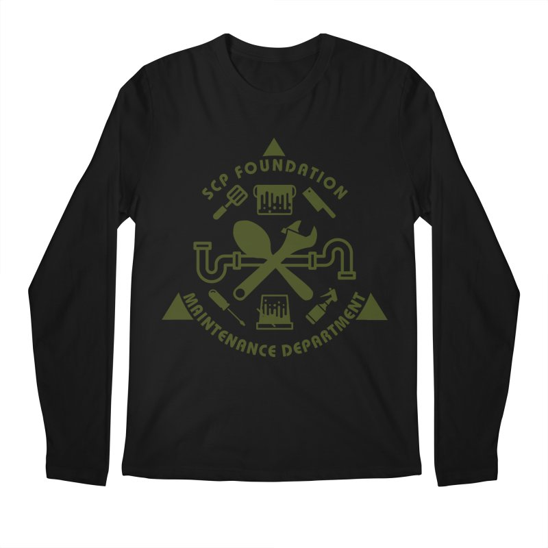 SCP Maintenance Department Men's Longsleeve T-Shirt by Find Us Alive Official Merch