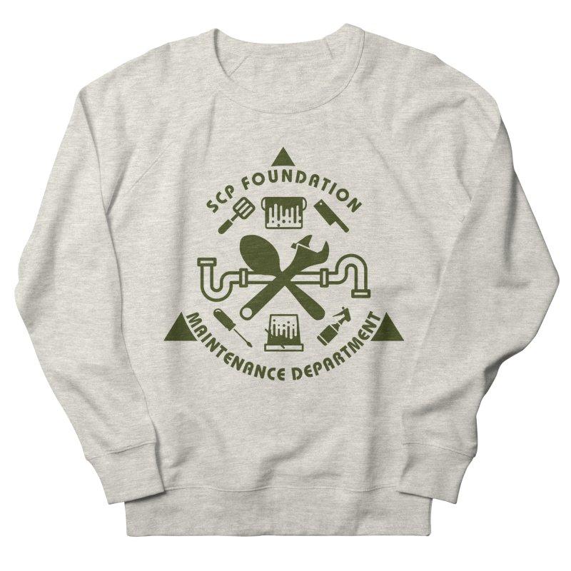 SCP Maintenance Department Men's Sweatshirt by Find Us Alive Official Merch