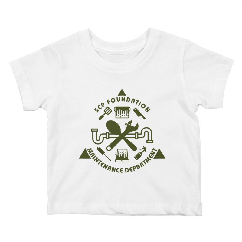 SCP Maintenance Department Kids Baby T-Shirt by Find Us Alive Official Merch